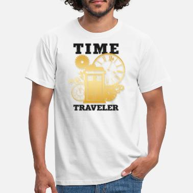 Time Travel Time Travel Time Travel - Men's T-Shirt