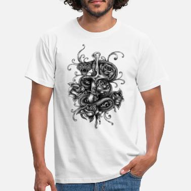 Dagger Dagger and snake - Men's T-Shirt