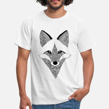 Cool Renard Design - T-shirt Homme