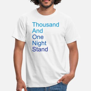 Citazione thousand and one night stand (2colors) - Maglietta uomo