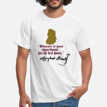 Mozart impertinent Wolfgang Amadeus Mozart Quotes - Men's T-Shirt