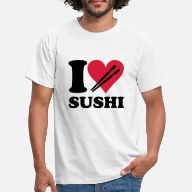 China Sushi - I love sushi - Männer T-Shirt