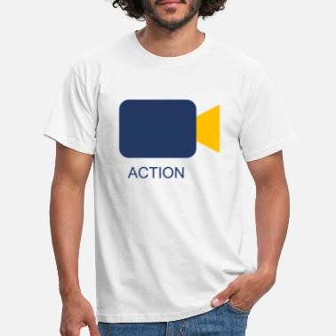 Action Action Cam - T-skjorte for menn