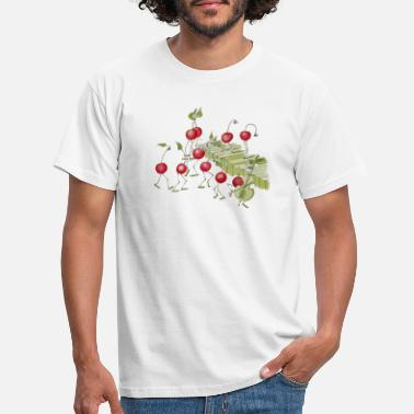 Fruity Krischen - from the book fruity letters - Men's T-Shirt
