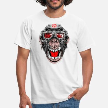 Singe Crazy Monkey - T-shirt Homme