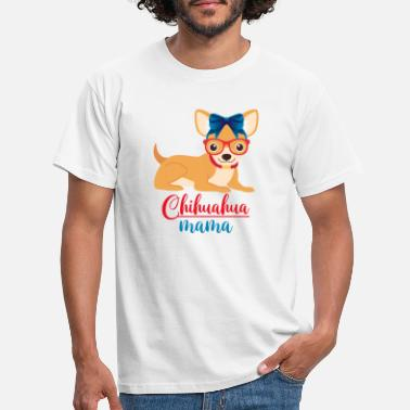 Purebred Dog Chihuahua mom - Men's T-Shirt