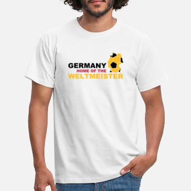 Gate germany home of the weltmeister - Men's T-Shirt