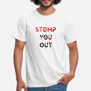 Éradiquer stamp you out style sanglant - T-shirt Homme