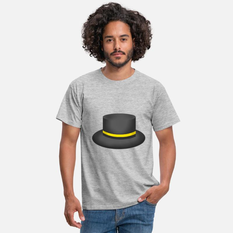 8dc3c6d4cf ROBLOX ~ TOPHAT (yellow) Men's T-Shirt - heather grey