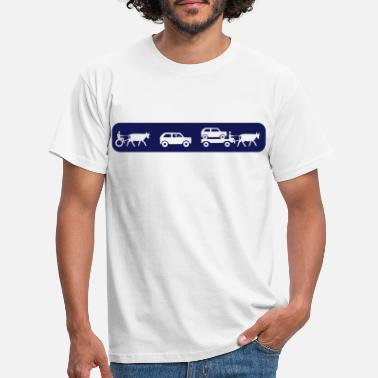 Auto evolution of mobility - Männer T-Shirt