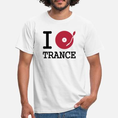 Mix i dj / play / listen to trance - T-shirt Homme