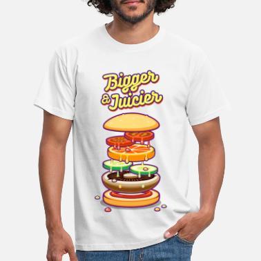 Vegan Bigger & Juicier - Men's T-Shirt