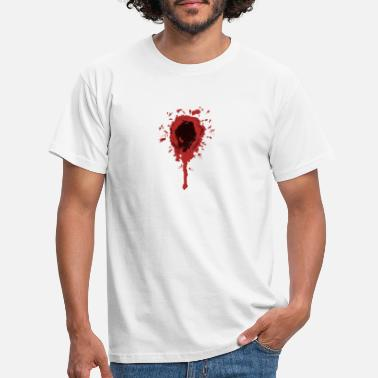 Wounded wound - Men's T-Shirt