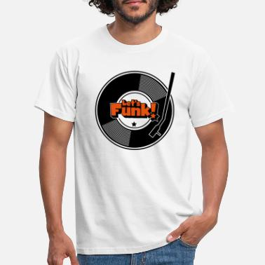 Blaxploitation Let's Funk Wax - Männer T-Shirt