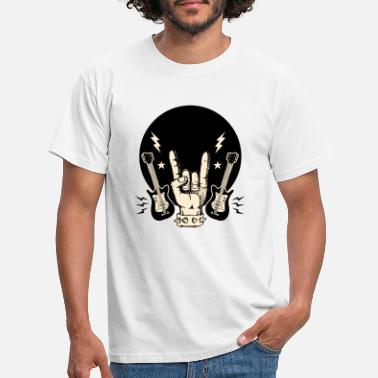Rock And Roll rock and roll - T-shirt Homme