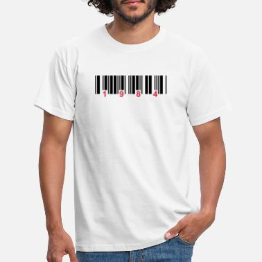 State barcode 1984 - Men's T-Shirt