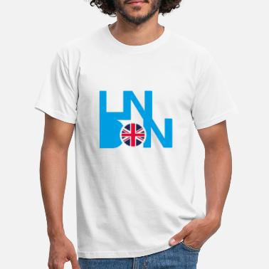 London Union Jack Flagge London Union Jack runde Flagge - Männer T-Shirt