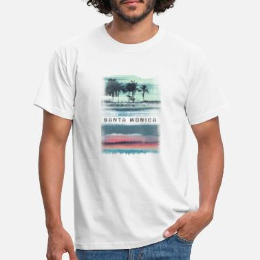 Santa Cool beach inspired merchandise and apparel for - Men's T-Shirt