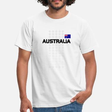Boys Australia National Soccer Team Fan Gear - Men's T-Shirt