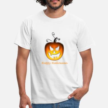Sukkerstok Amazon Happy Halloween Pumkin - T-shirt mænd