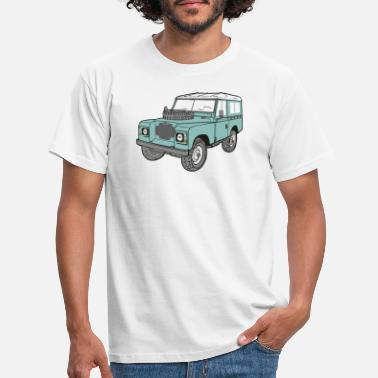 Land Land Rover 4 x 4 Land Rover Series3 88 - Men's T-Shirt