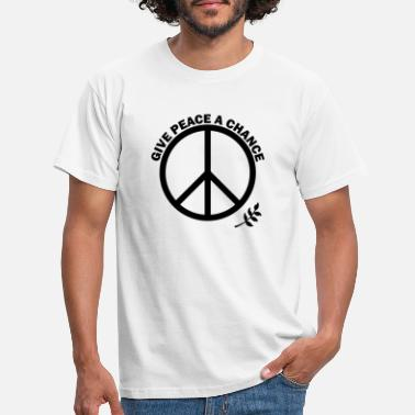 Chance GIVE PEACE A CHANCE - Men's T-Shirt