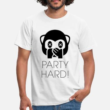 Party Party Hard! - Männer T-Shirt