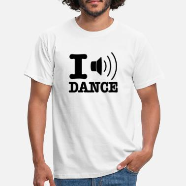 I Love Dance I speaker dance / I love dance - T-shirt herr