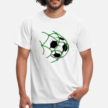 Shot On Goal Goal football shot - Men's T-Shirt