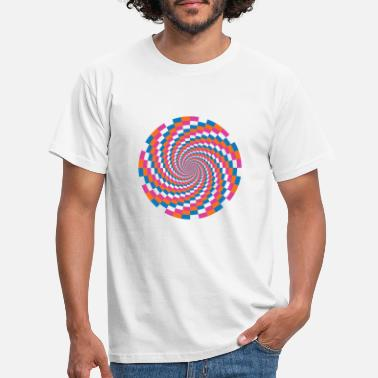 Stylish Psychedelic - Mannen T-shirt