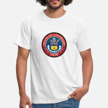 Southern Colorado coat of arms - Men's T-Shirt