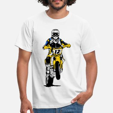 Supermoto - Supermotard - Offroad - Men's T-Shirt