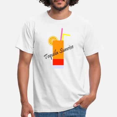 Tequila Sunrise Tequila Sunrise - T-skjorte for menn