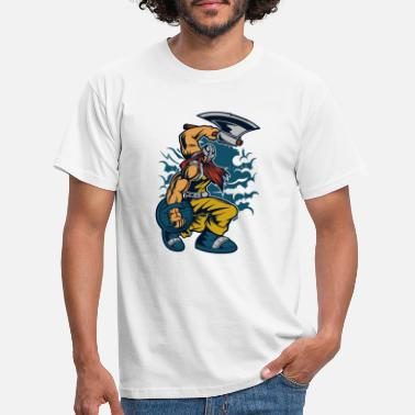 Warrior viking warrior - Men's T-Shirt