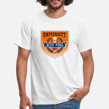 beer pong University - T-shirt Homme
