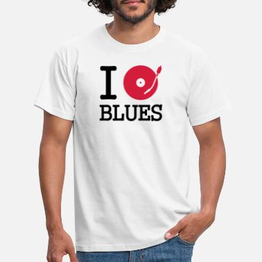Dancefloor I dj / play / listen to blues - Männer T-Shirt