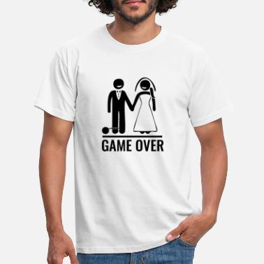 Game Over Game over - Mannen T-shirt
