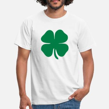 Leaf 4 leaf clover - Men's T-Shirt