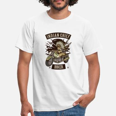Clubs Indian Chief Bikers Club - Men's T-Shirt