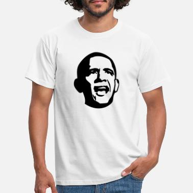 Obama Angry Obama - T-shirt Homme