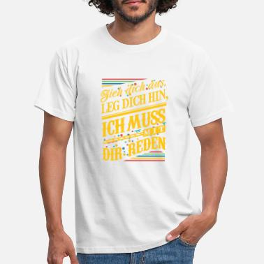 Dawoud Carnival Take off your clothes we have to talk - Men's T-Shirt