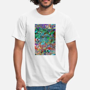 Schedels graffiti 2020 D 4 - Mannen T-shirt