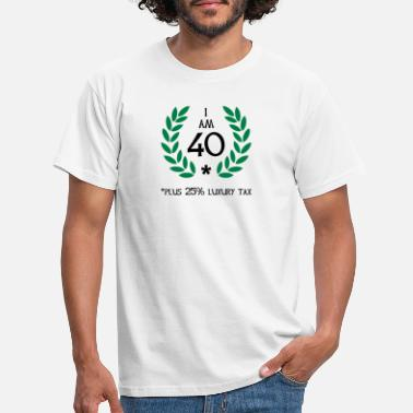 Kranz 50 - 40 plus tax - Männer T-Shirt