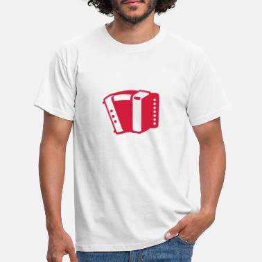 Accordion Accordion music instrument 190315 - Men's T-Shirt
