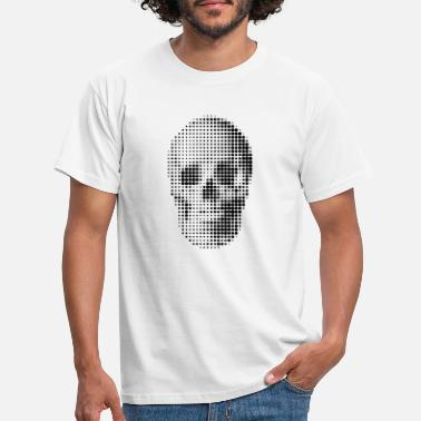 Cemetery skull - Men's T-Shirt