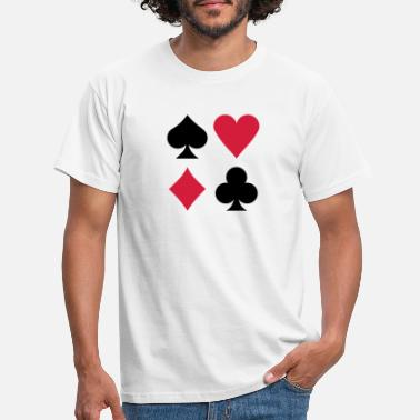 Chips Poker - Männer T-Shirt
