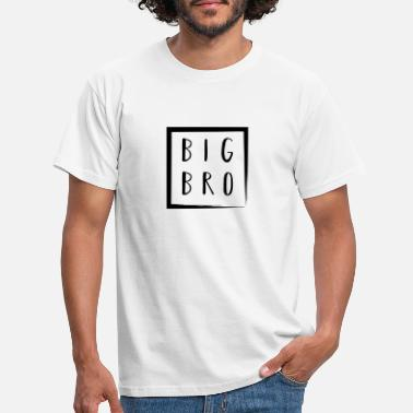 Bro Big Bro - Big Brother, Großer Bruder - Partnerlook - Männer T-Shirt