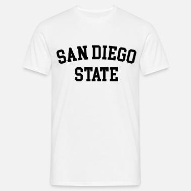 Apparel SDSU Unisex San Diego State University  Poly Cotton T Shirt