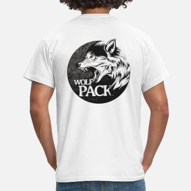 Wolfpack Wolfpack Growling Patch Grayblack - T-shirt mænd
