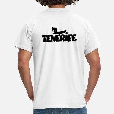 Surfing Tenerife Surfing - Men's T-Shirt